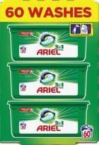 Ariel Original All In One Pods Capsules - 57 Wash